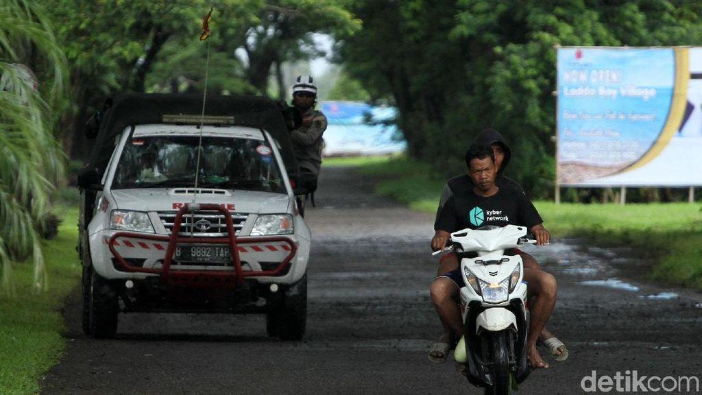 Sempat Ada Info Air Pasang, Warga di Tanjung Lesung Berlarian
