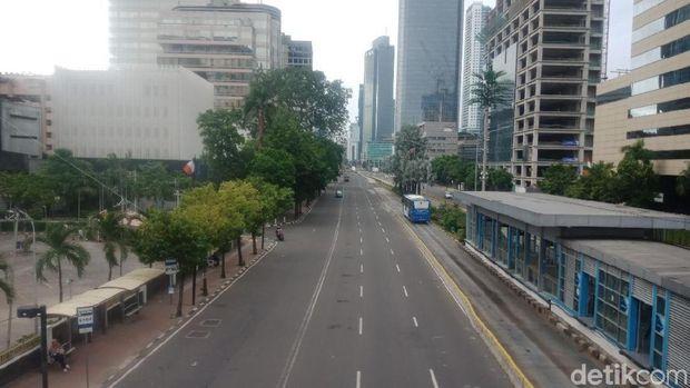 Kawasan Jl MH Thamrin