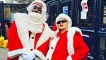 Tingkah Para Seleb Dunia saat Merayakan Natal