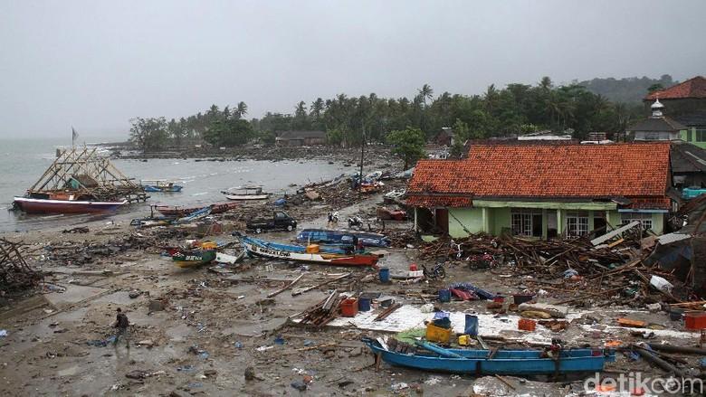 BNPB: Indonesia Rawan Tsunami, Sejak 1629 Ada 177 Kejadian