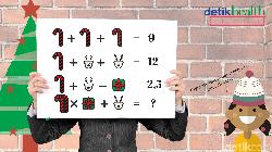 Merry Christmas! Edisi natal kali ini, detikHealth sudah menyiapkan tes asah otak biar liburanmu jadi makin menyenangkan. Are you ready for it?