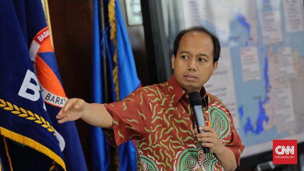 epala Pusat Data Informasi dan Humas Badan Nasional Penanggulangan Bencana (BNPB) Sutopo Purwo Nugroho.