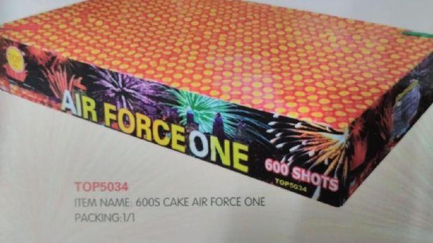 api air force one 600 shots