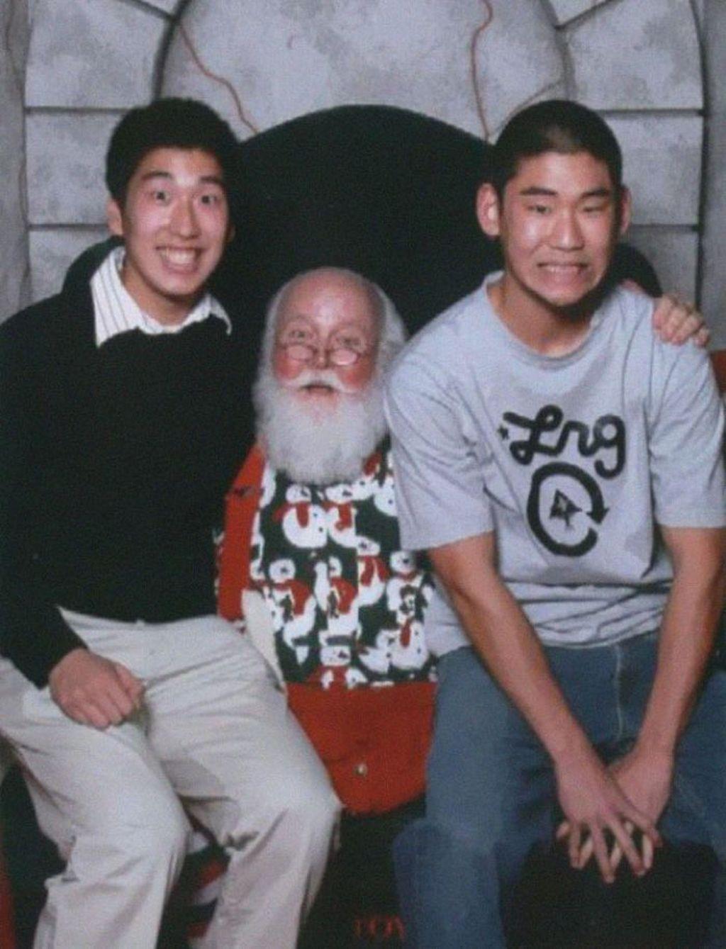 Santa, 2006. (Foto: boredpanda)