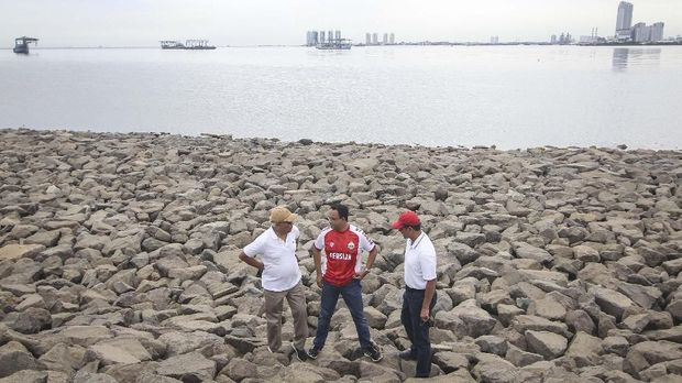 Lewat Ingub, Anies Upacara 17 Agustus di Pulau Reklamasi