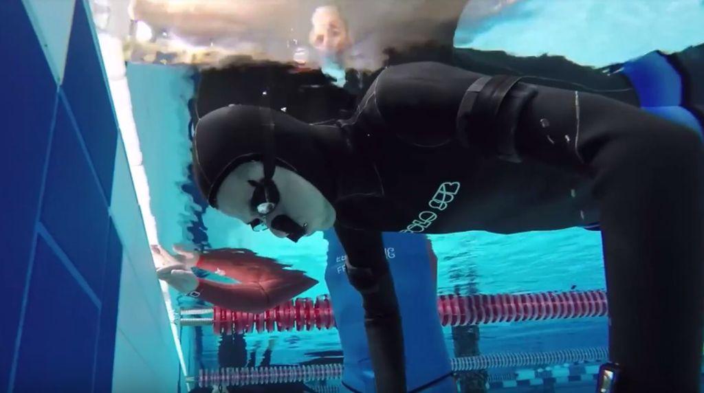 Aquaman di Dunia Nyata, Aleix Segura Tahan Napas 24 Menit Dalam Air