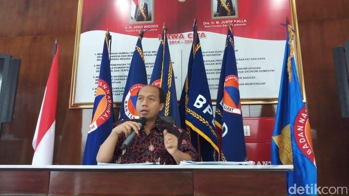Kepala Pusat Data dan Humas BNPB Sutopo Purwo Nugroho. Foto: Farih Maulana/detikcom