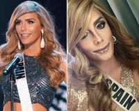 Pria Ini Berubah Jadi Finalis Miss Universe 2018, Dari Macho Jadi Cantik