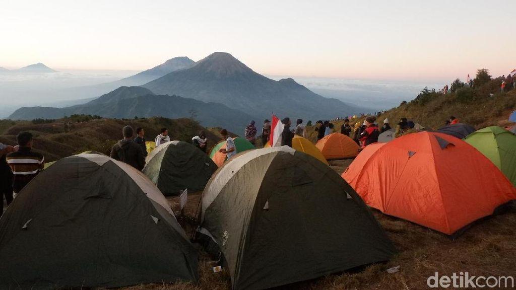 Pendakian Gunung Prau Diberlakukan Buka Tutup, Ini Alasannya