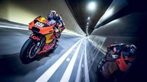 Ketika Motor MotoGP Digeber di Terowongan