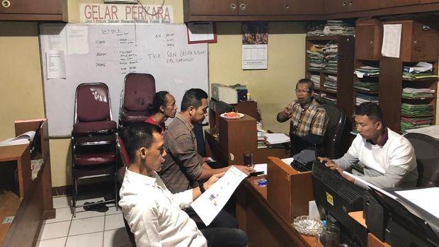 TKD Jokowi-Maruf Kab. Bogor lapor