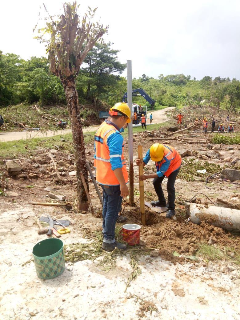 Pulihkan Kelistrikan Pasca Tsunami, PLN Kerja 24 Jam