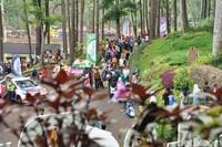 Taman ini menjadi destinasi pilihan bagi masyarakat Banjar dan sekitarnya untuk mengisi liburan (Dadang Hermansyah/detikTravel)