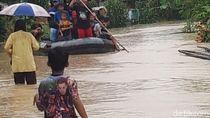 Banjir di Lokasi Tsunami Pandeglang Rendam 500 Rumah