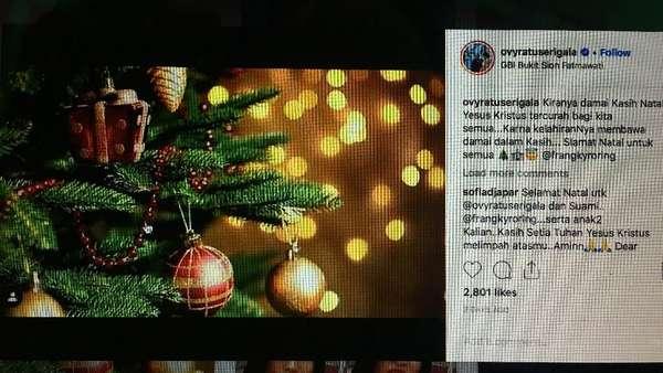 Natal Pertama Ovi Sovianti
