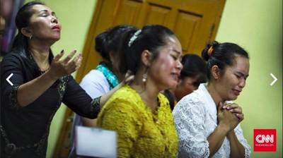 Khidmatnya Natal di Tengah Bencana Tsunami Selat Sunda
