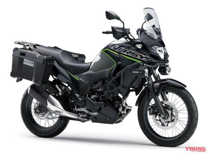 Warna-warna Baru Kawasaki Versys X 250 di 2019
