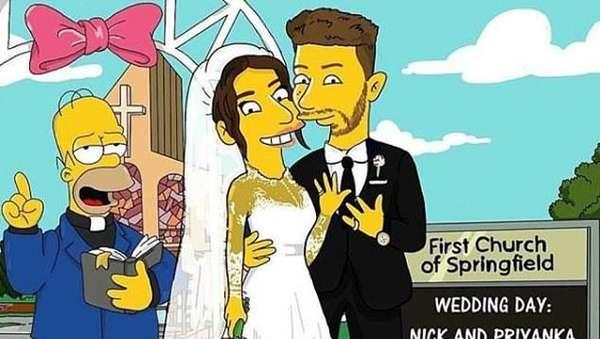 Priyanka Chopra dan Nick Jonas Jadi Karakter Simpson