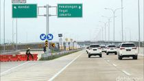 Ban Panas Digeber di Jalan Tol Tak Sampai Bikin Ban Meletus