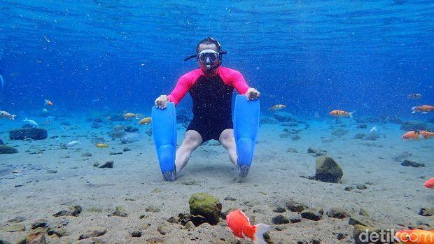 Bukan Foto di Laut, Ini Foto Bawah Air Sumber Alami di Klaten