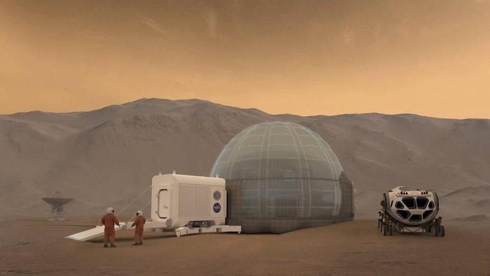 Psikologi jadi tantangan terberat saat tinggal di Mars. Foto: BBC Magazine