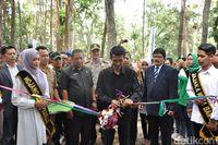 Peresmian Wana Wisata Mustika Taman Anggrek (Dadang Hermansyah/detikTravel)
