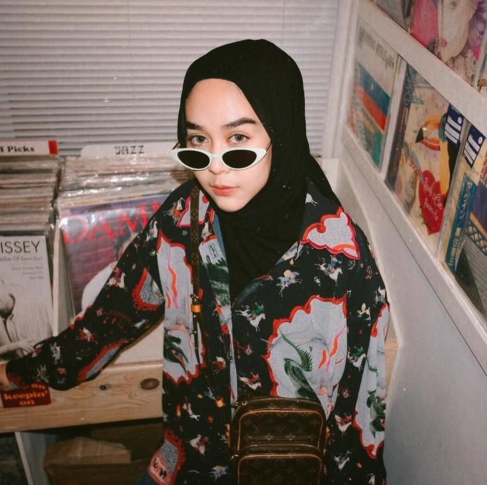 Hijabers dengan gaya unik. Foto: Instagram