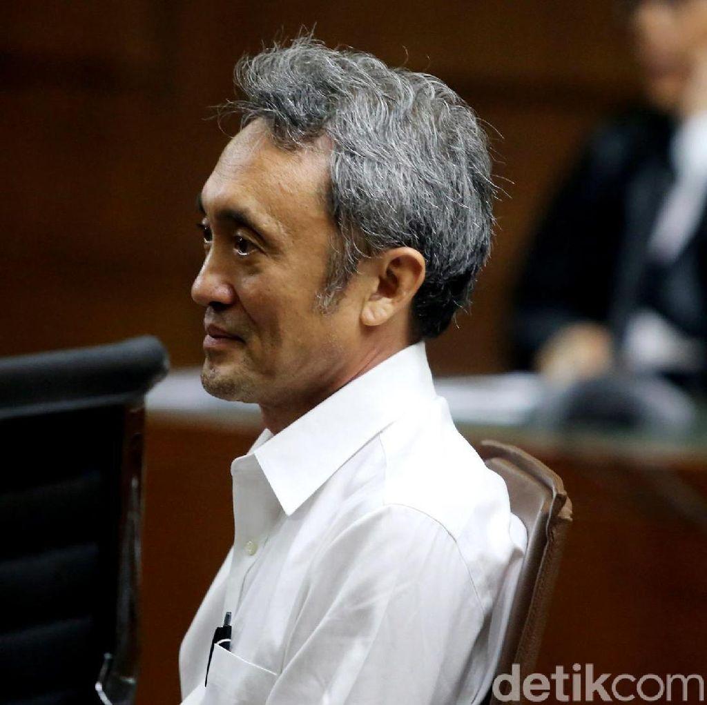 Dicecar Jaksa soal Pelarian ke LN, Eddy Sindoro Ngaku Berobat Alternatif