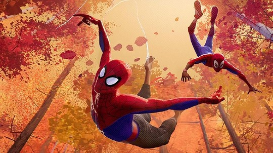 Grafik Canggih Spider-Man: Into the Spider-Verse