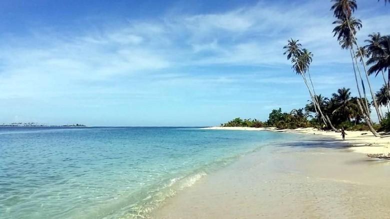 Pulau Baguk, tempat kuburan massal korban tsunami Aceh (dok. Istimewa)