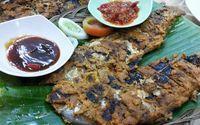 Bumbu ikan bakar nila ala Padang.