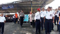 Mes Karyawan Stasiun Balapan Solo Diratakan untuk Lahan Parkir