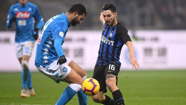 Inter Milan baru saja meraih kemenangan atas Napoli dalam lanjutan Liga Italia 2018/2019.