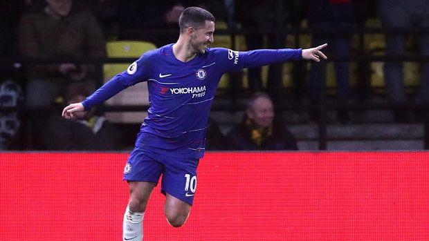 Eden Hazard kemungkinan bakal dilepas Chelsea musim depan. (
