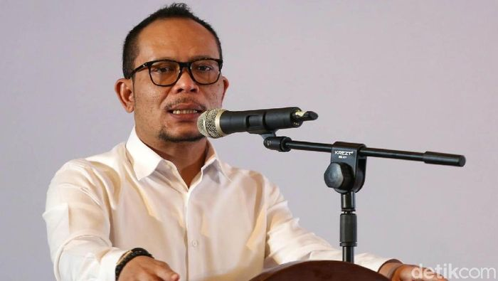 Hanif Dhakiri, plt menpora (Agung Pambudhy/detikSport)