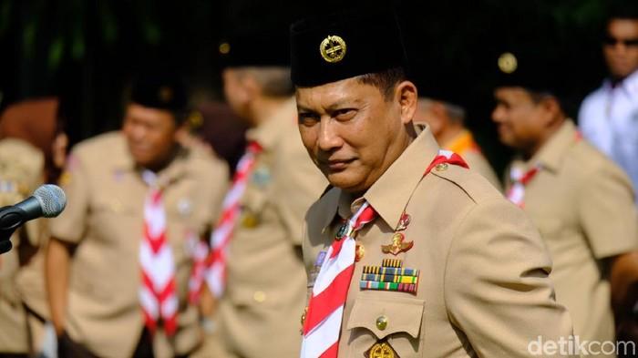 Ketua Kwarnas Gerakan Pramuka Budi Waseso (Buwas)