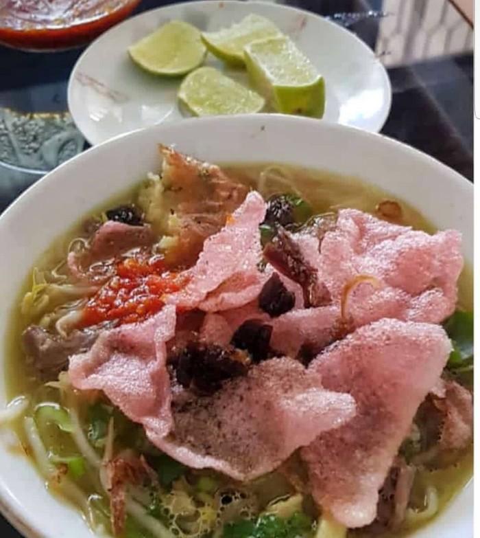 soto Padang untuk sarapan