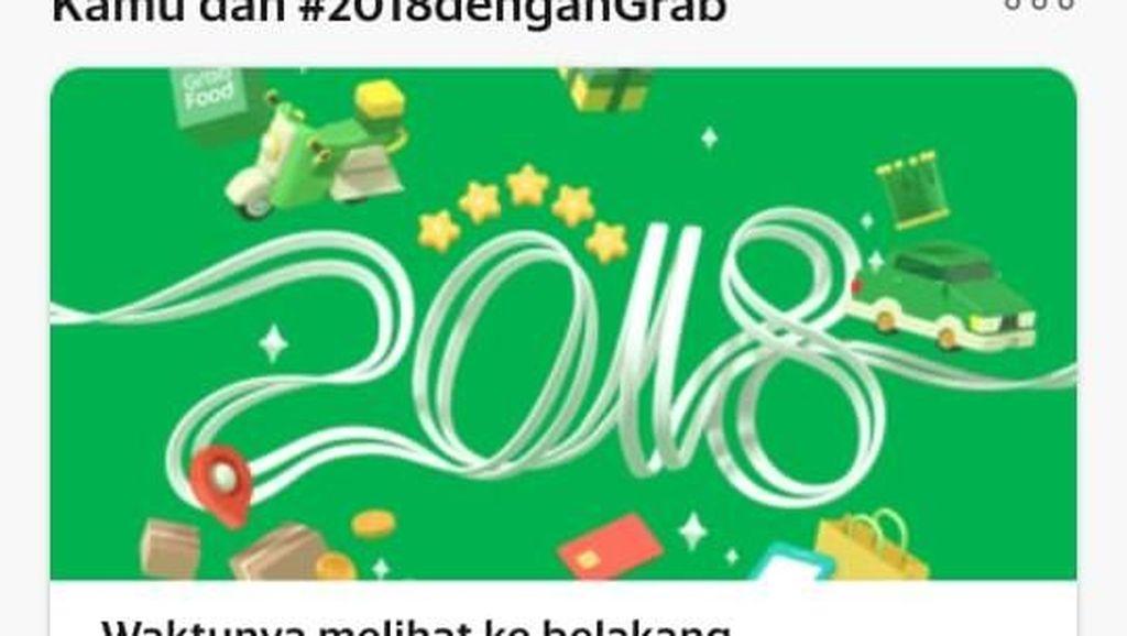 Siap-siap Baper! Grab Ajak Lihat Kenangan Jalanmu di 2018