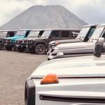 Cara Komunitas Mercedes Jip Indonesia Tutup Akhir Tahun