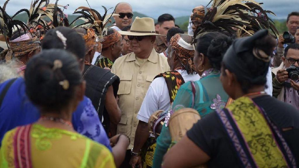 Prabowo ke Pro Integrasi Timor Timur: Elite Tak Paham Perjuangan Kalian
