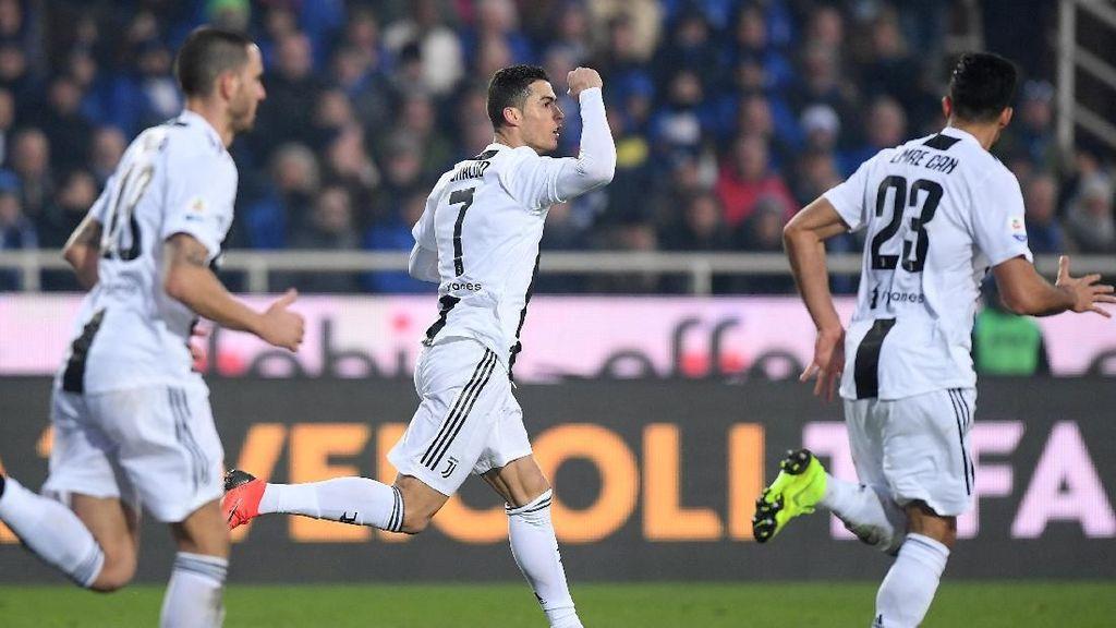 Batal Istirahat, Ronaldo Jadi Penyelamat Juventus