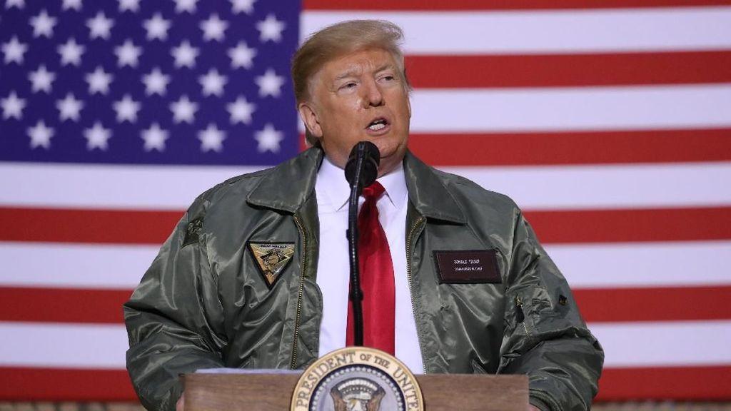 Presiden AS Trump Berencana Tandatangani Perjanjian Damai Dengan Taliban