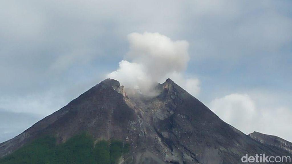 Gunung Merapi Gugurkan Lava Pijar 6 Kali Tadi Malam