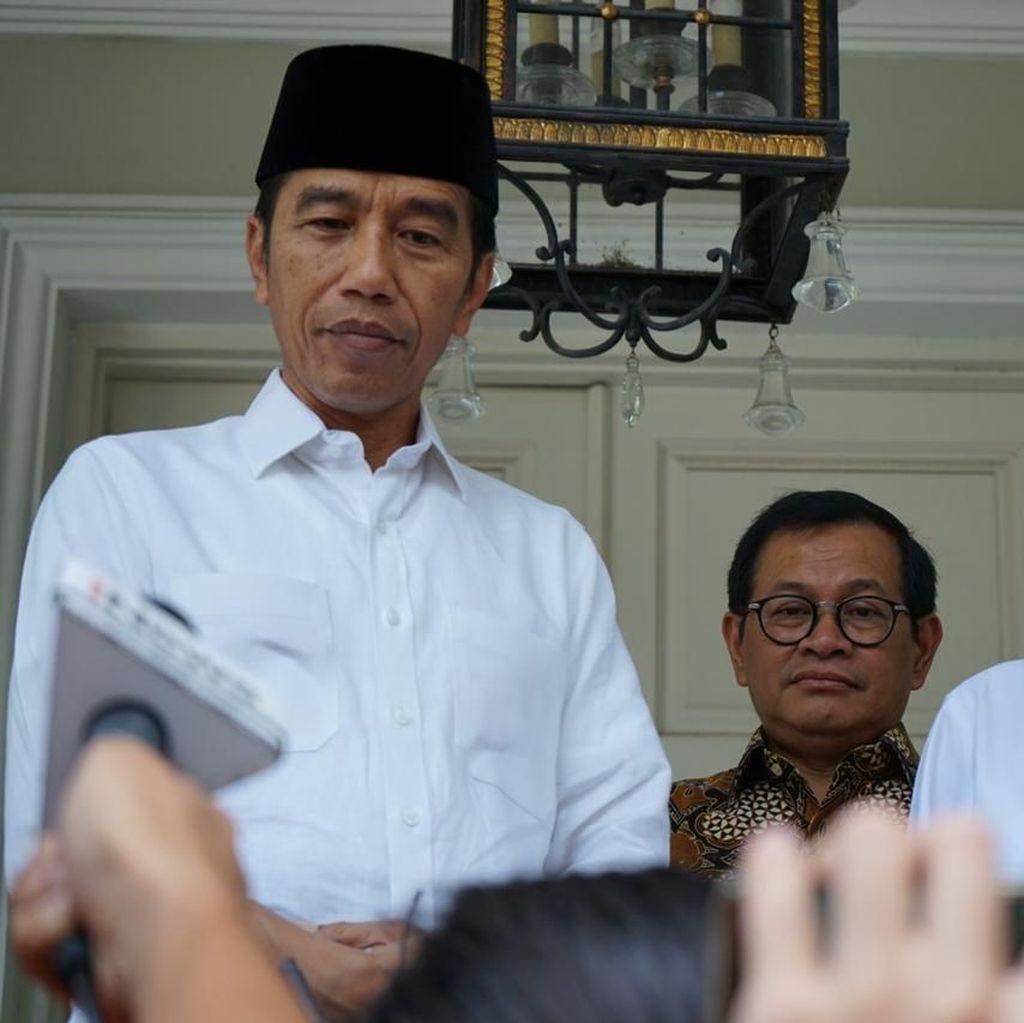 Elektabilitas Jokowi Dipepet Prabowo, TKN Tetap Optimis Menang Pilpres