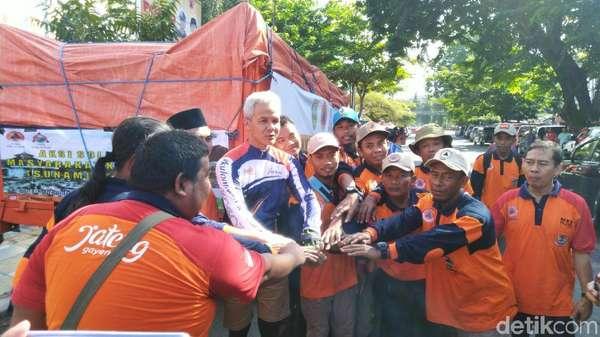 Jateng Kirim Puluhan Relawan dan Logistik untuk Korban Tsunami Anyer