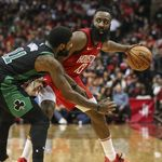 Hasil NBA: Harden On-fire, Rockets Taklukkan Celtics