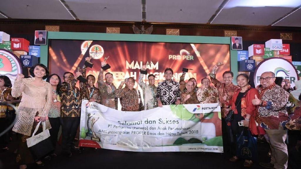 Beyond Culture, Pertamina Borong 13 Proper Emas