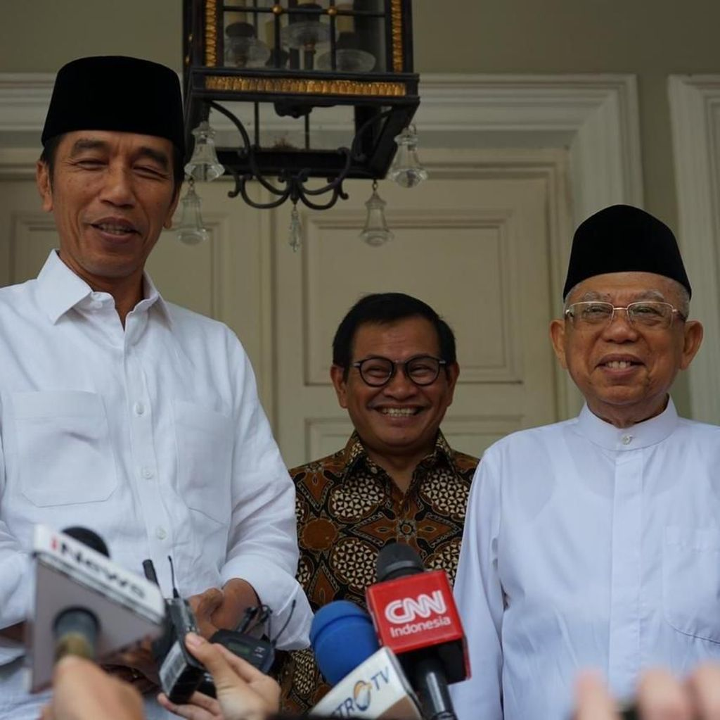Usai Sidang Putusan MK, Jokowi Akan Beri Pernyataan di Rumah Maruf Amin