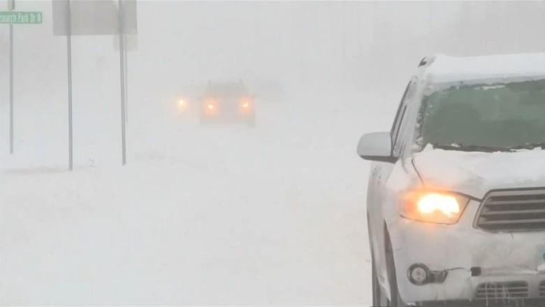 Badai dan Hujan Salju Cengkeram Jerman Selatan dan Austria