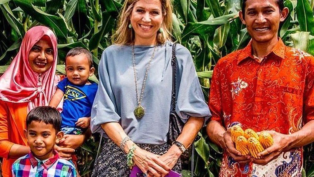 Keseruan Momen Kuliner Queen Maxima, Permaisuri Belanda yang Hobi Makan
